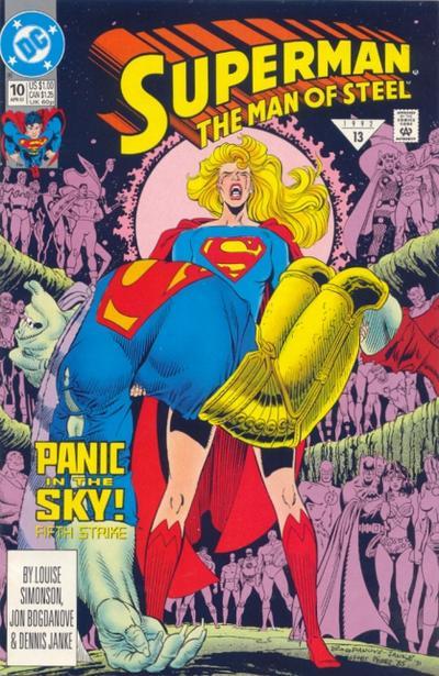 Superman: The Man of Steel Vol 1 10
