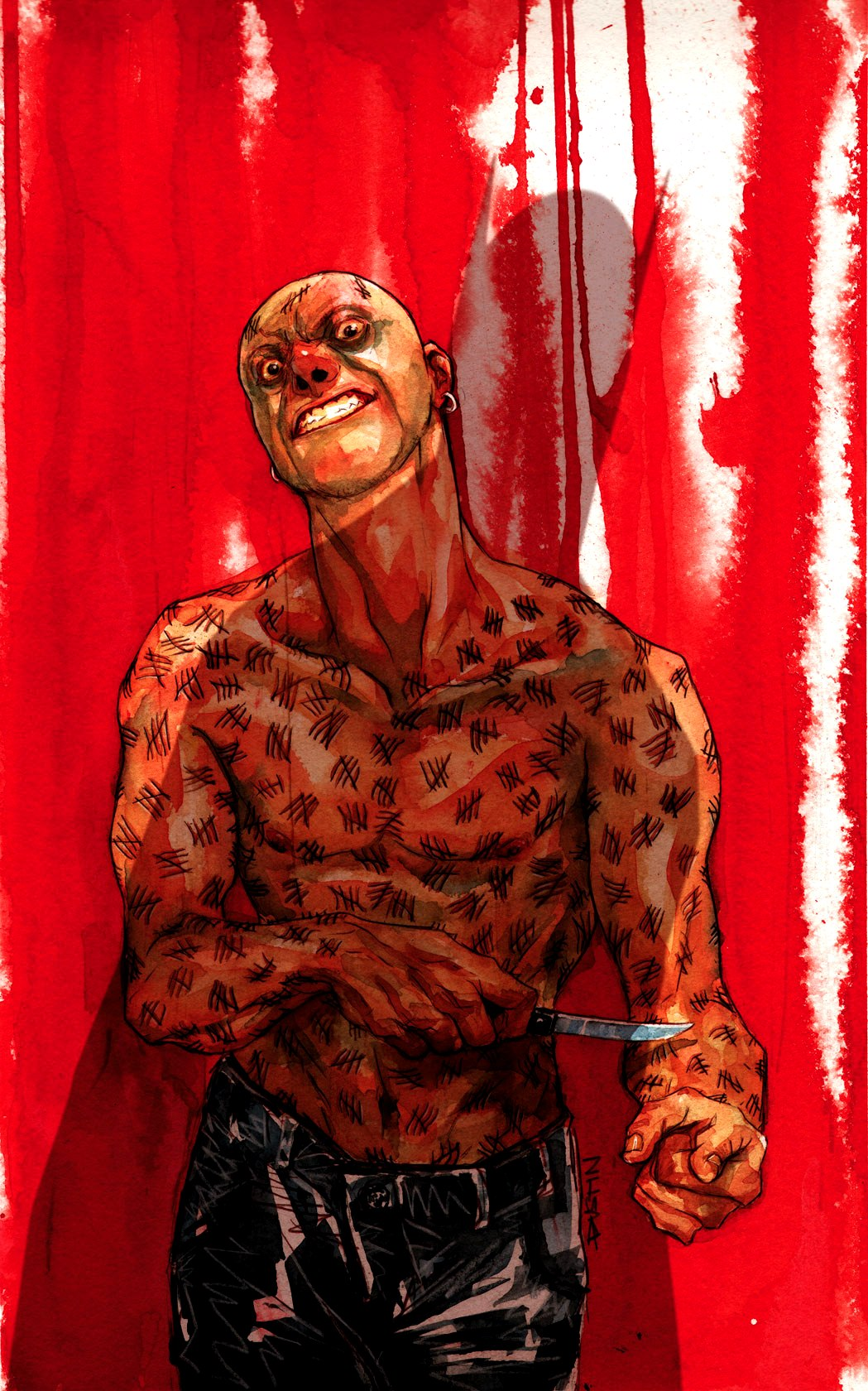 Victor Zsasz (New Earth)