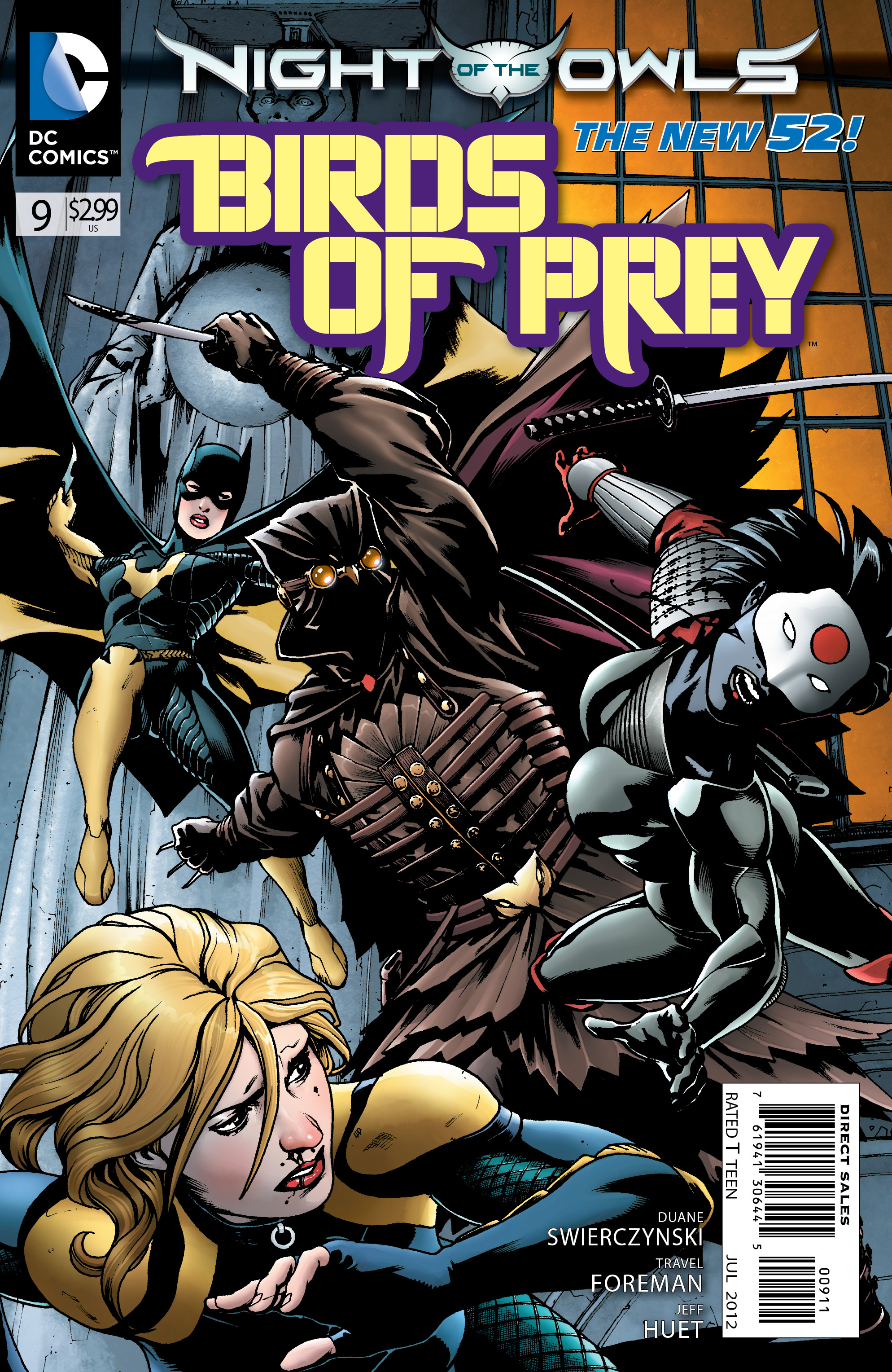 Birds of Prey Vol 3 9