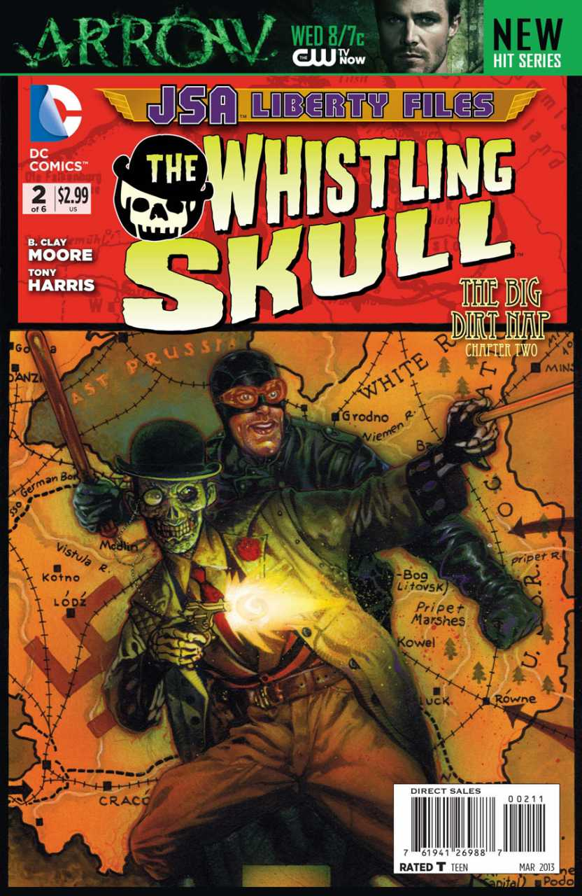 JSA Liberty Files: The Whistling Skull Vol 1 2