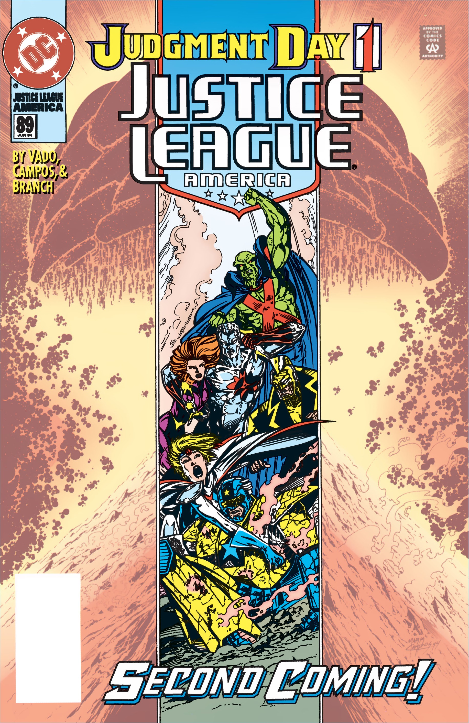 Justice League America Vol 1 89
