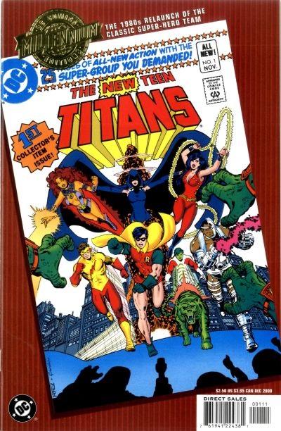 Millennium Edition: New Teen Titans Vol 1 1