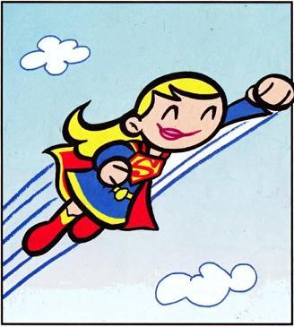 Kara Zor-El (Tiny Titans)