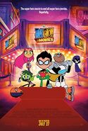 Teen Titans Go! To the Movies Movie Poster