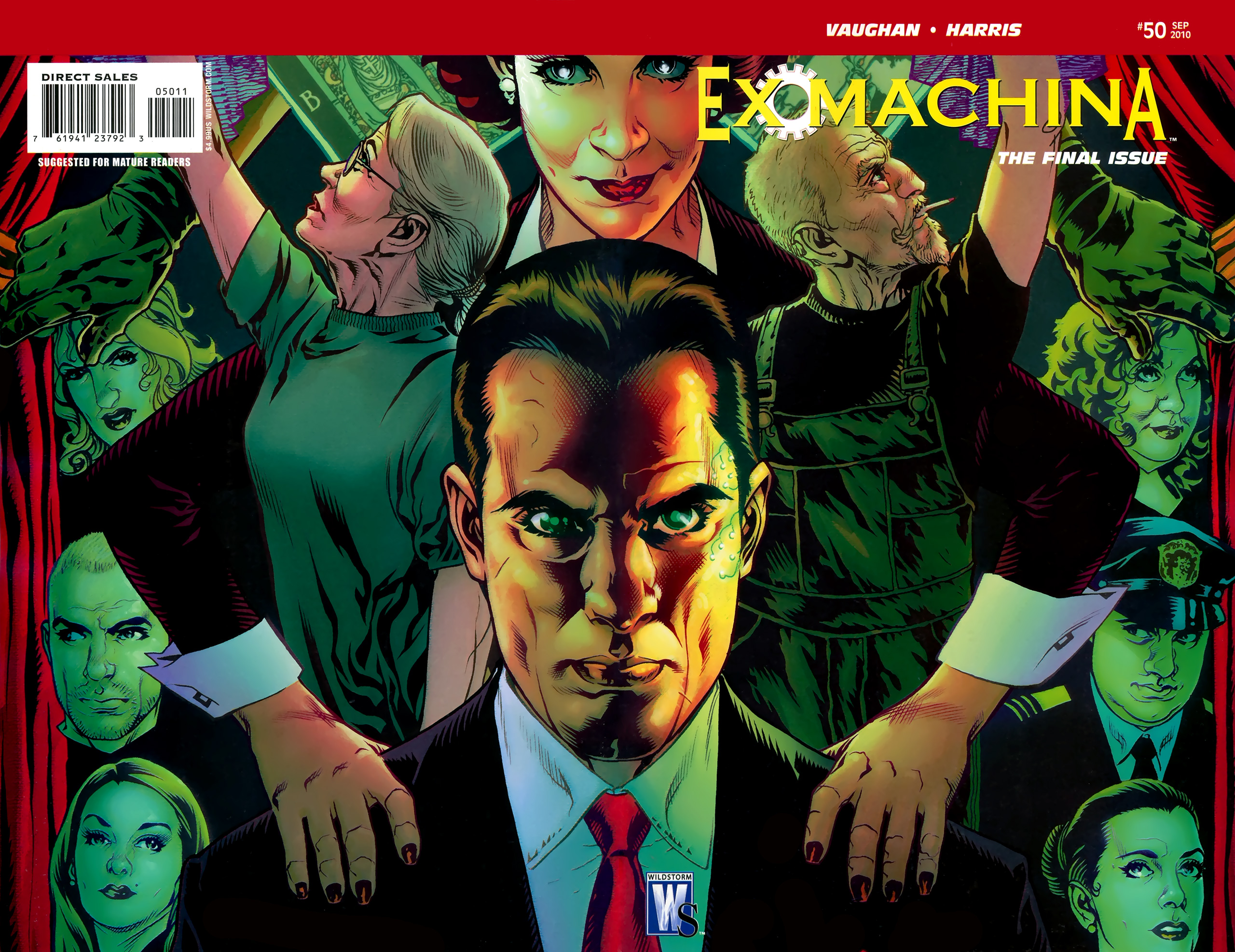 Ex Machina Vol 1 50