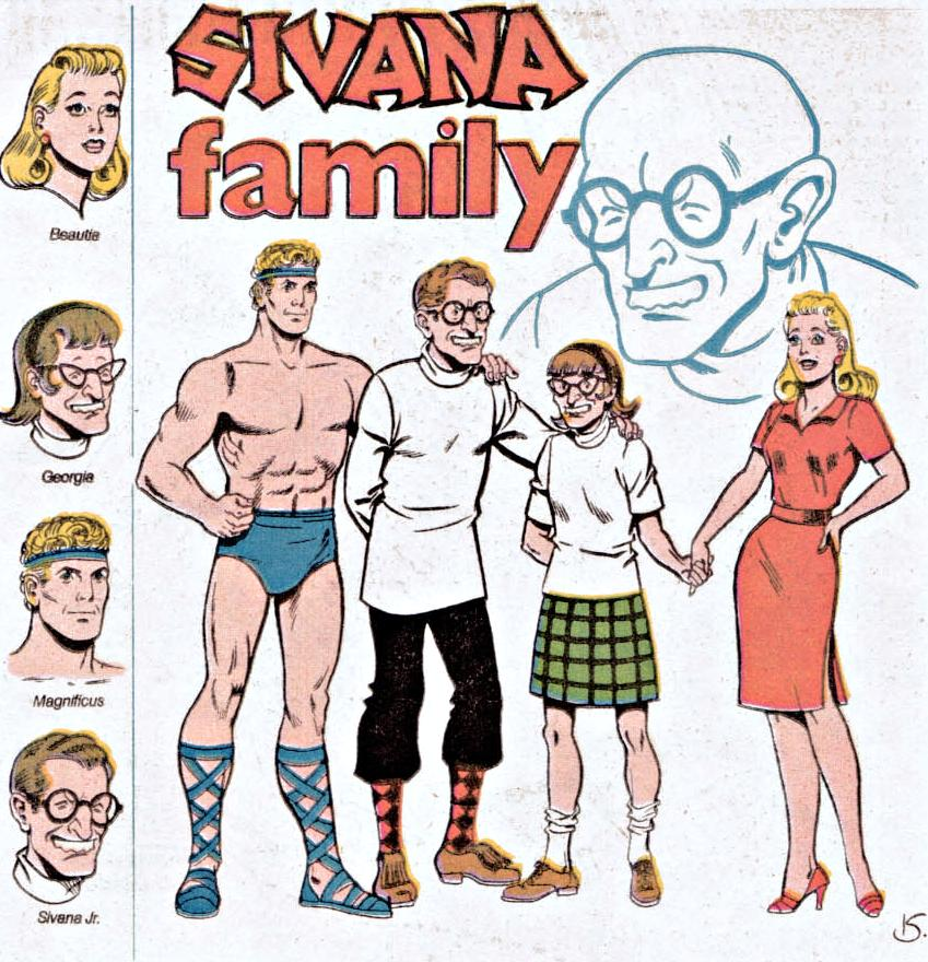 Sivana Family (New Earth)