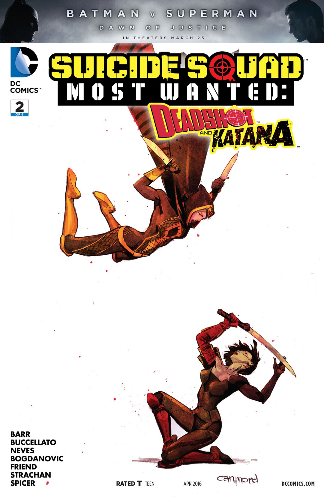 Suicide Squad Most Wanted: Deadshot and Katana Vol 1 2