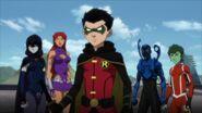 Teen Titans War 0001