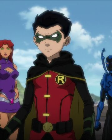 Teen Titans Dc Animated Movie Universe Dc Database Fandom