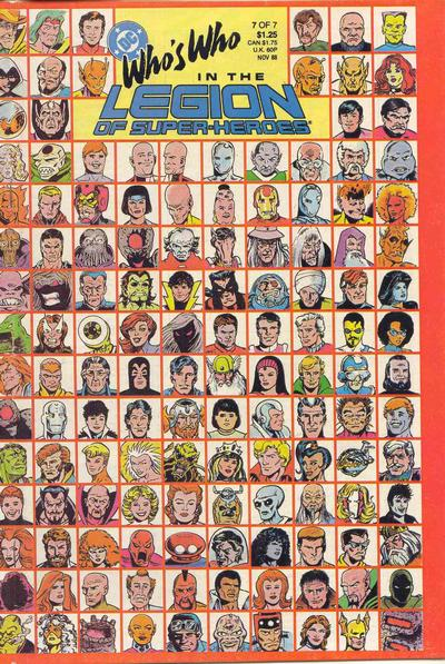 Who's Who in the Legion of Super-Heroes Vol 1 7