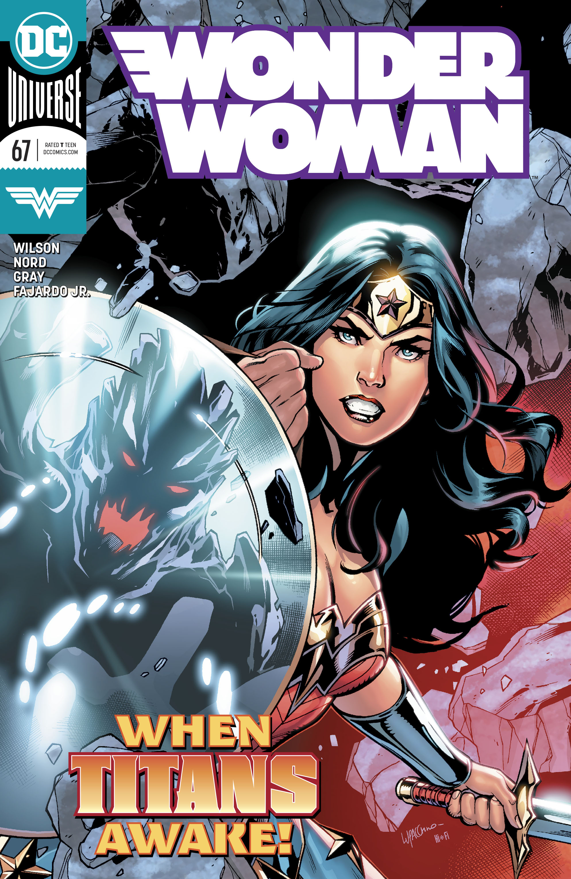 Wonder Woman Vol 5 67