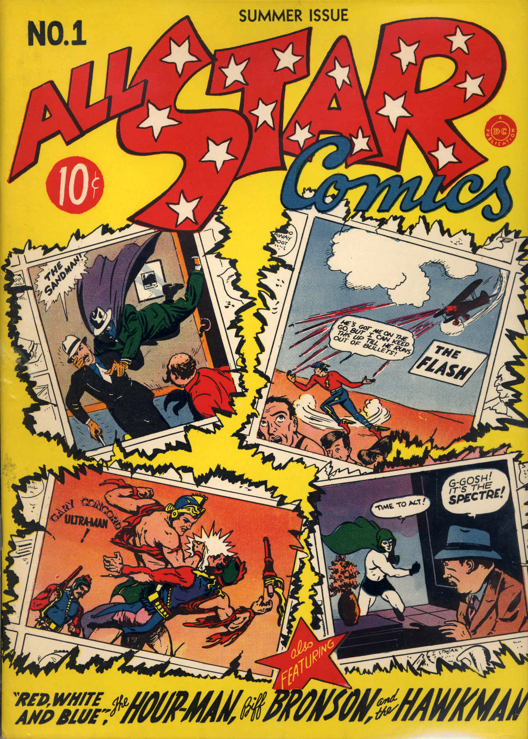 All-Star Comics Vol 1 1