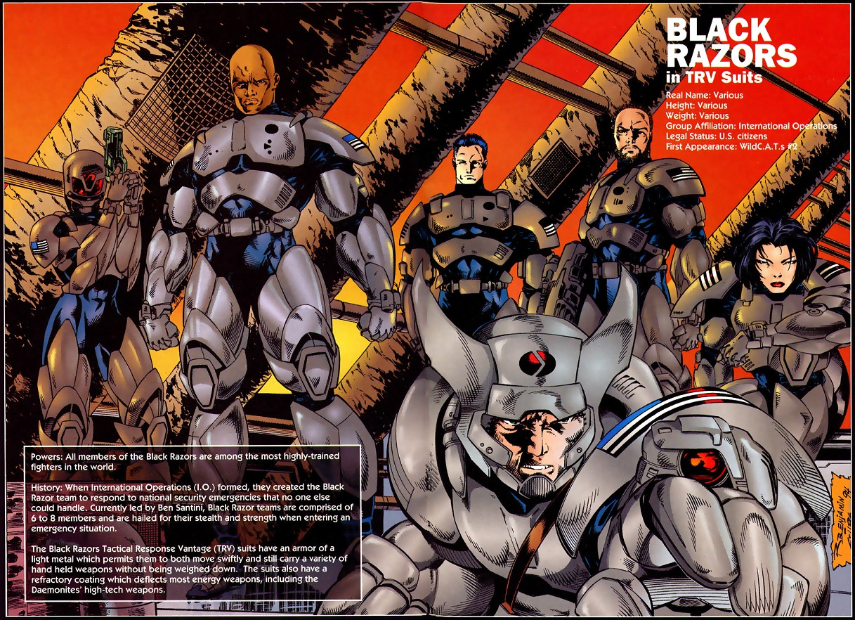 Black Razors (Wildstorm Universe)/Gallery