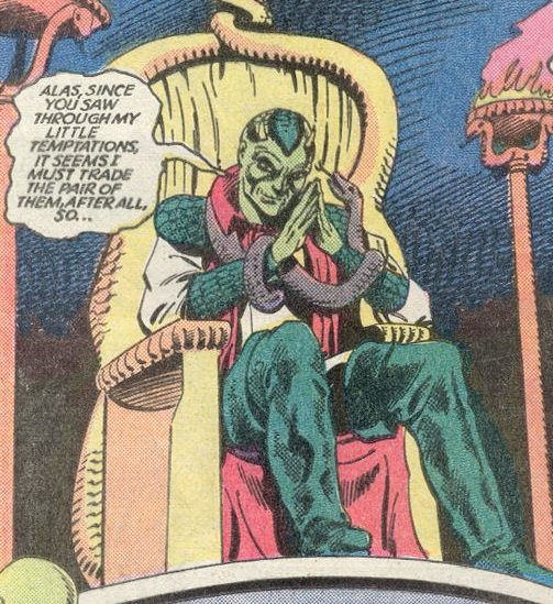 Lord of Serpents (Earth-One)