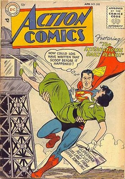 Action Comics Vol 1 203