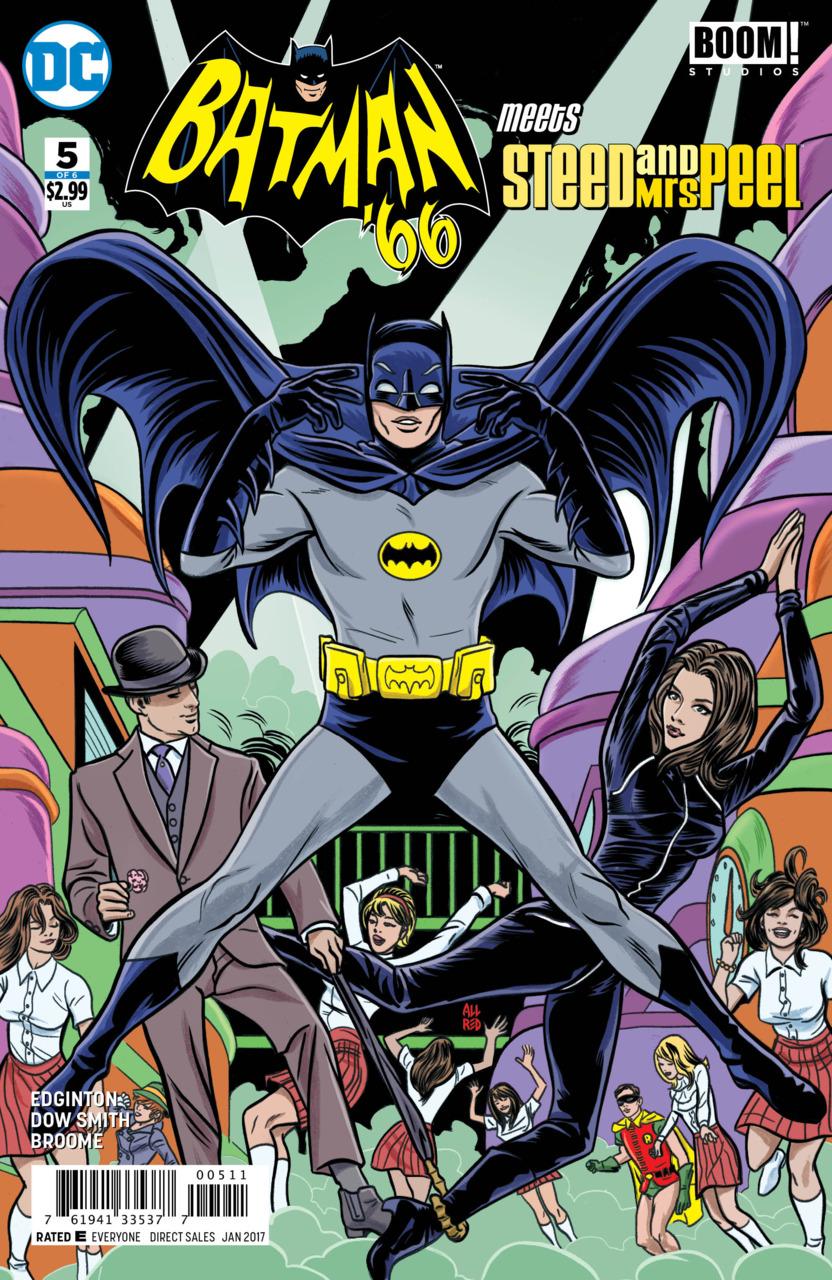 Batman '66 Meets Steed and Mrs. Peel Vol 1 5