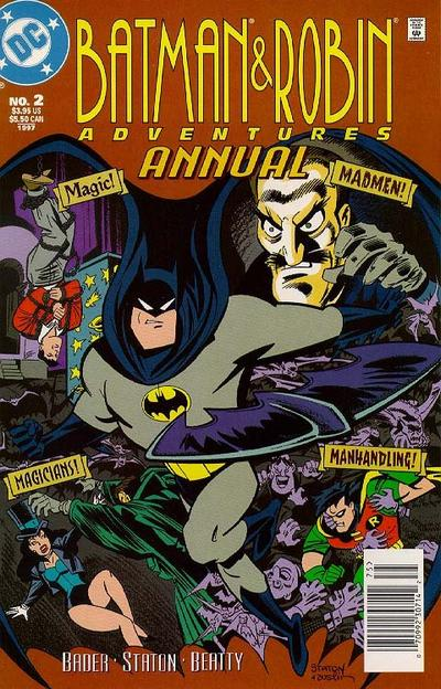 The Batman and Robin Adventures Annual Vol 1 2