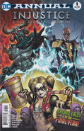 Injustice Gods Among Us Year Five Annual Vol 1 1
