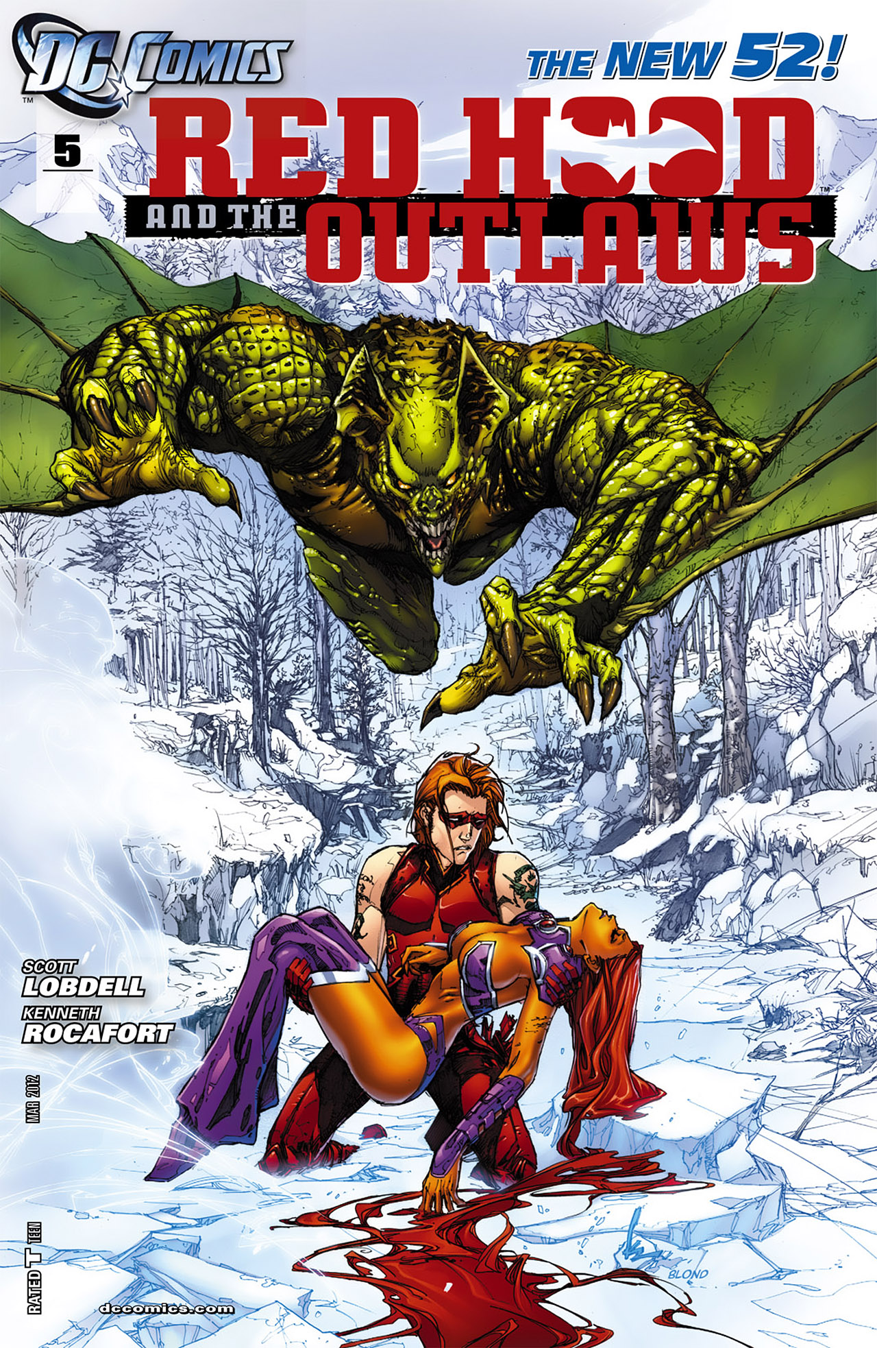 Red Hood and the Outlaws Vol 1 5