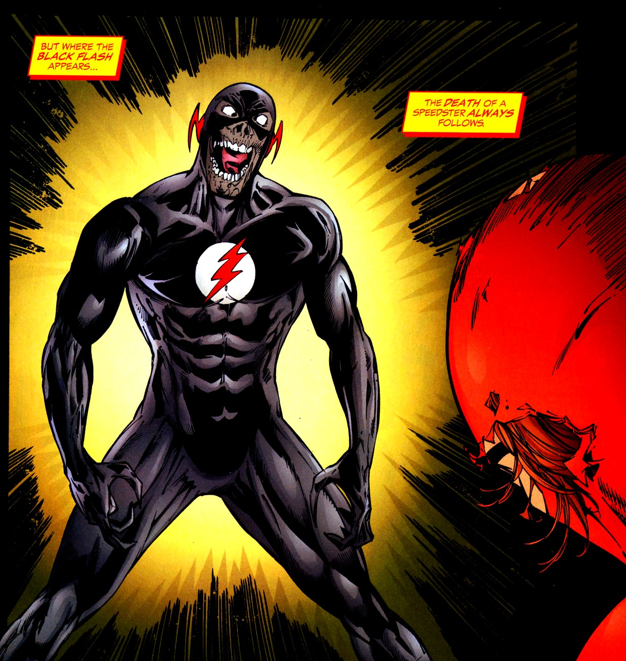 Black Flash Disambiguation Dc Database Fandom