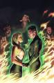 Green Lantern Emerald Warriors Vol 1 2 Textless Variant