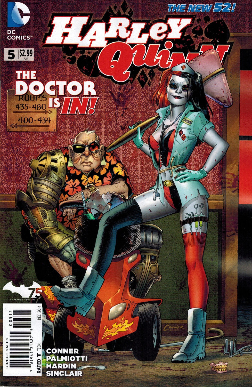 Harley Quinn Vol 2 5 2nd Printing.jpg