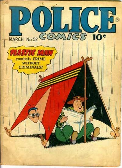 Police Comics Vol 1 52