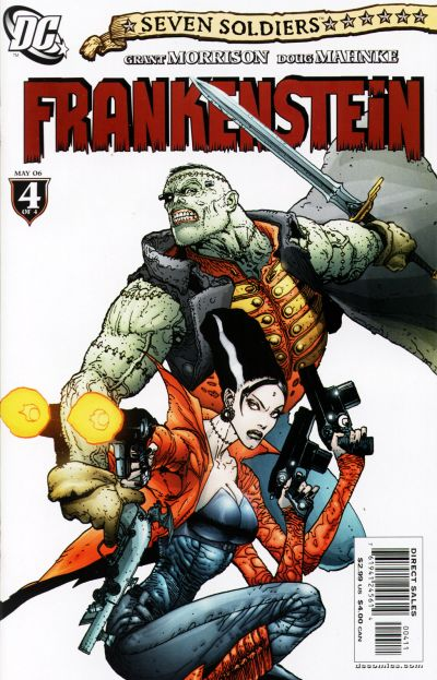 Seven Soldiers: Frankenstein Vol 1 4
