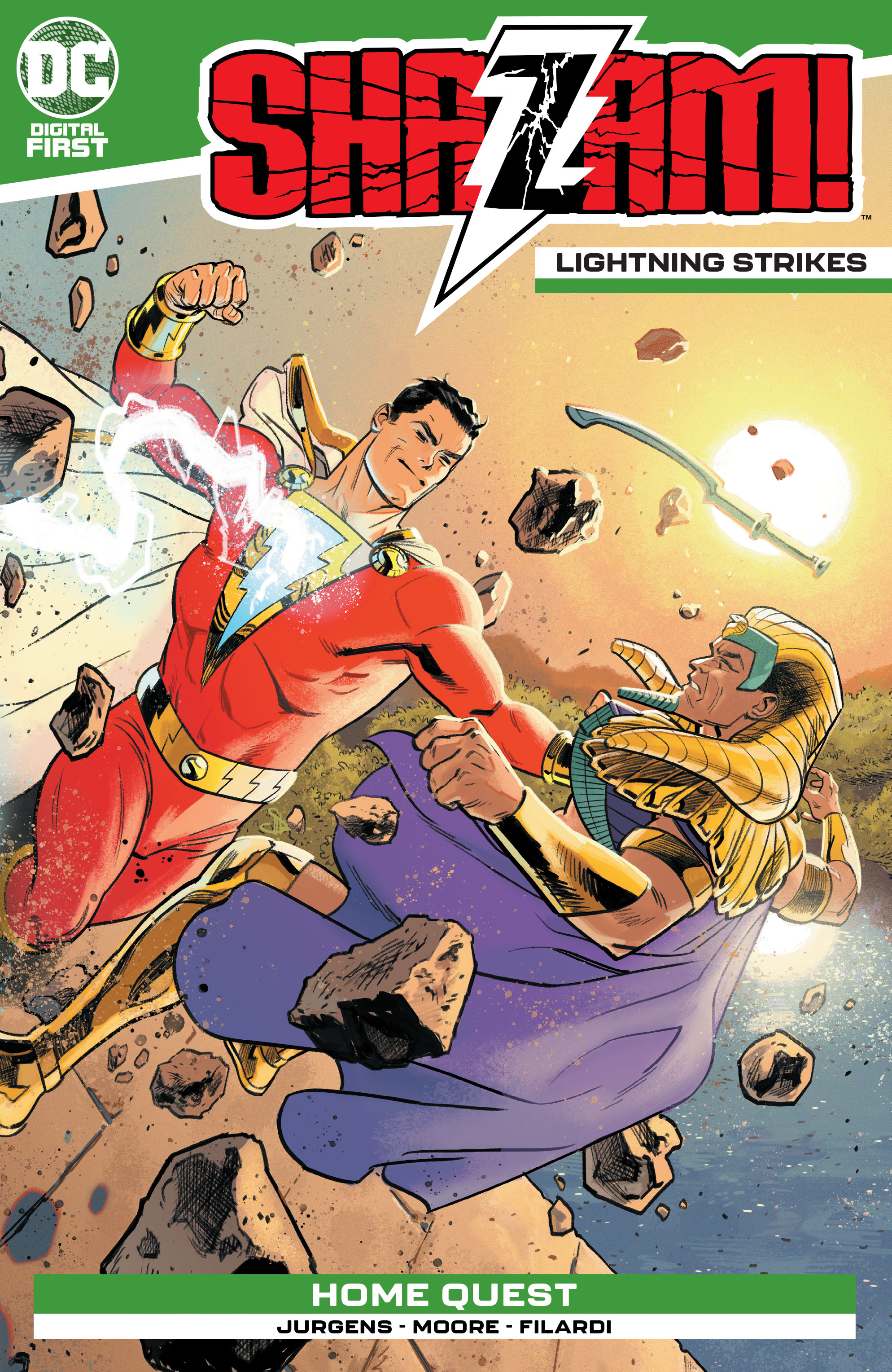 Shazam!: Lightning Strikes Vol 1 1 (Digital)