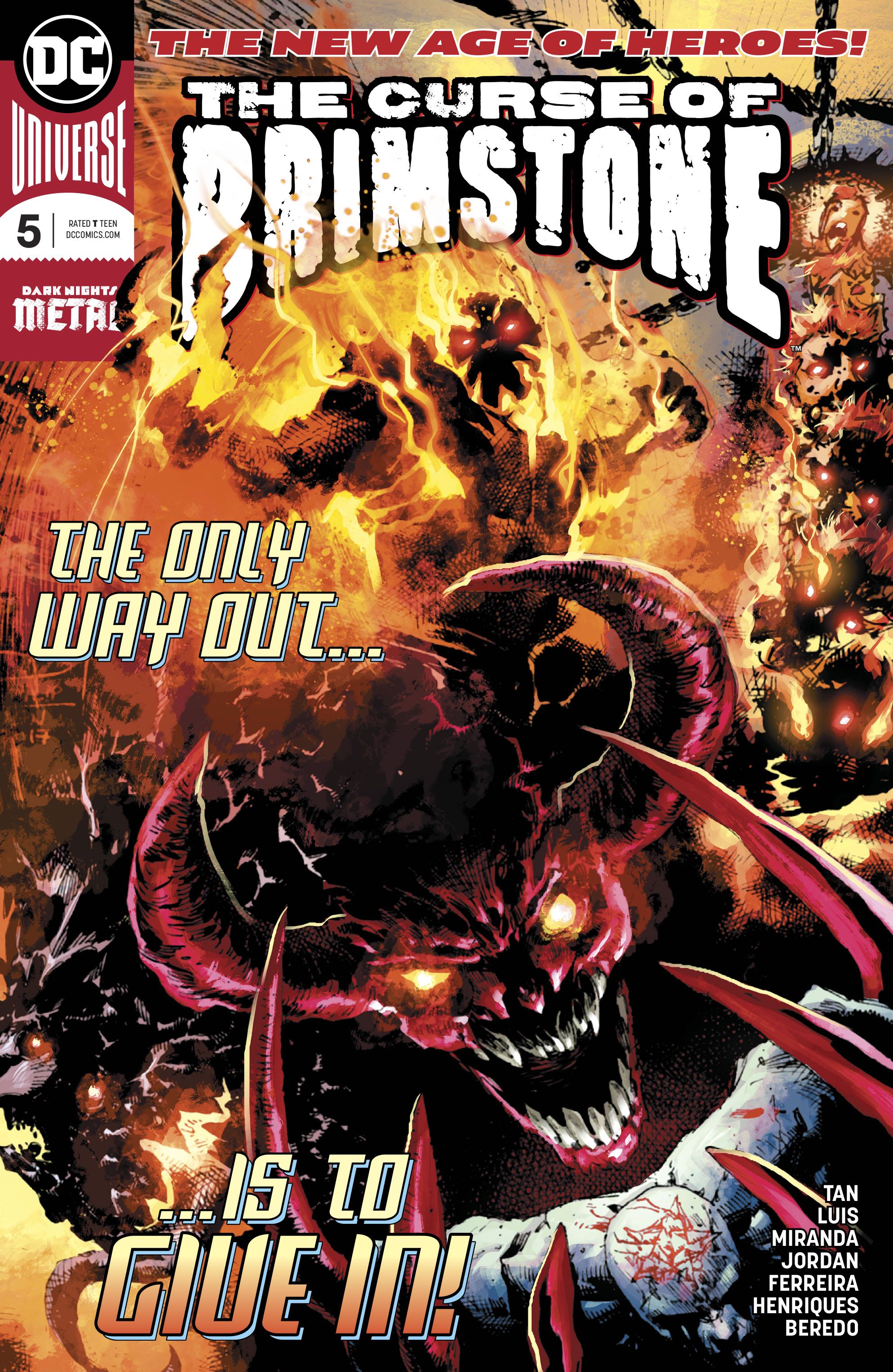 The Curse of Brimstone Vol 1 5