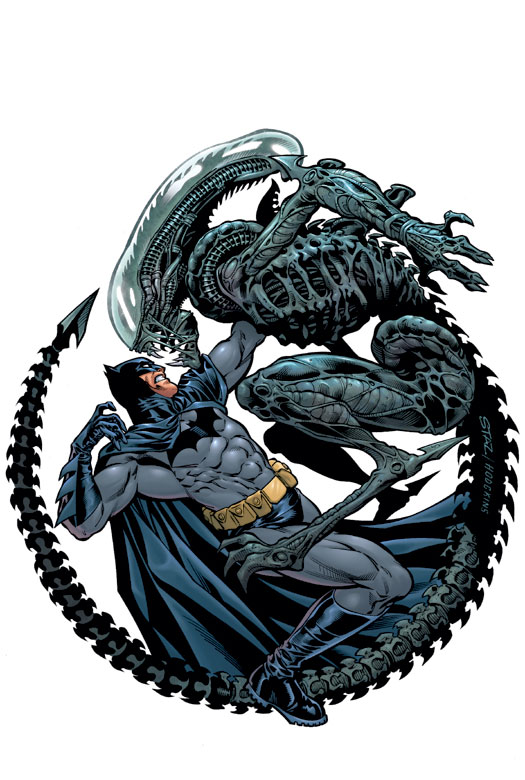 Batman/Aliens II (Collected)