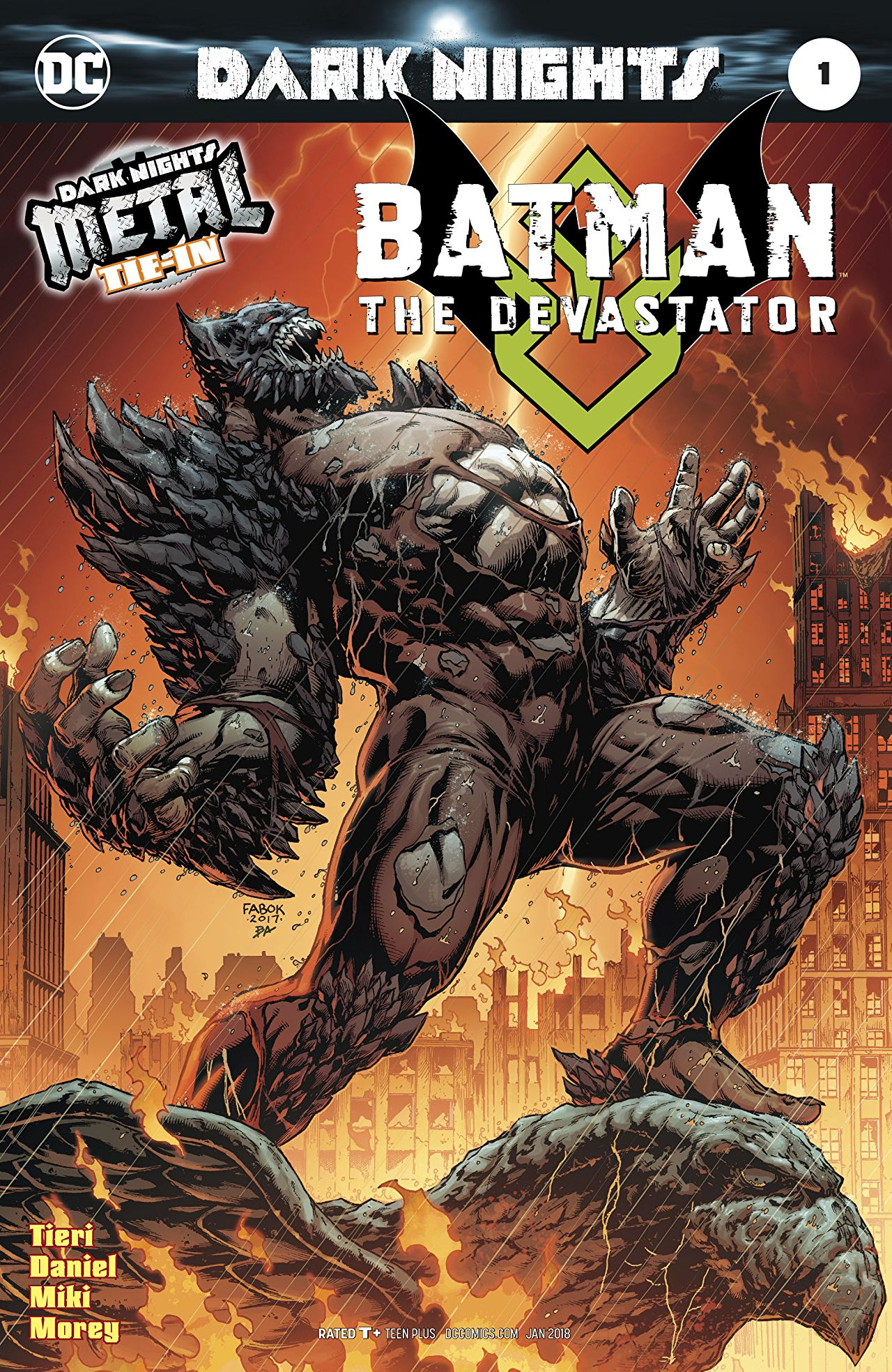 Batman: The Devastator Vol 1 1