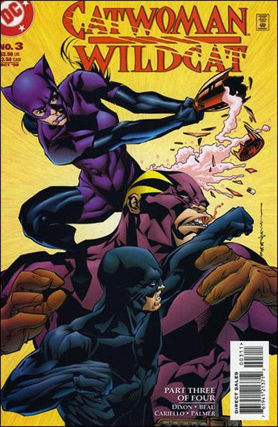 Catwoman/Wildcat Vol 1 3