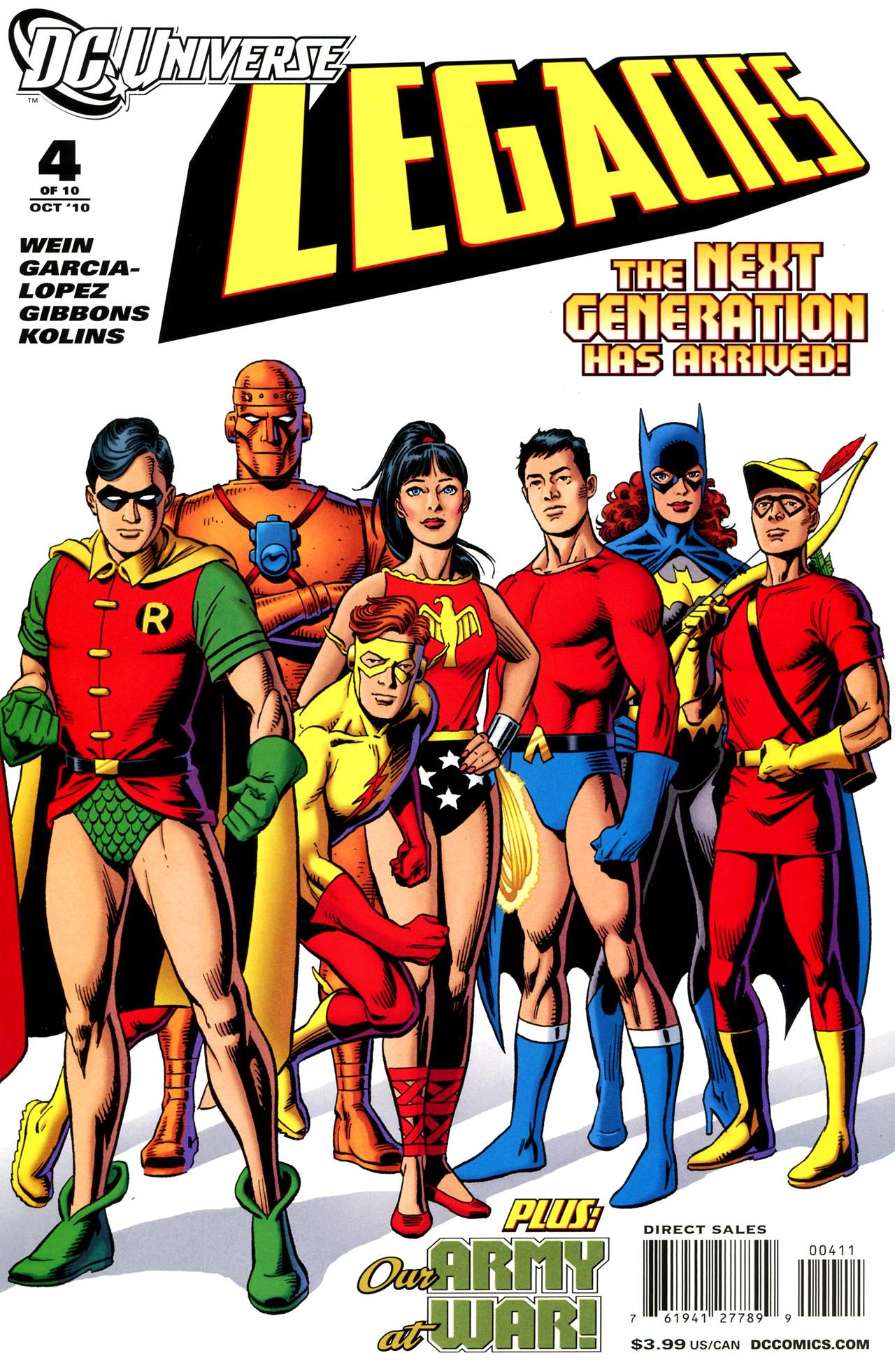 DC Universe Legacies Vol 1 4