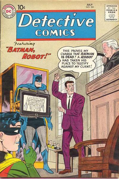 Detective Comics Vol 1 281