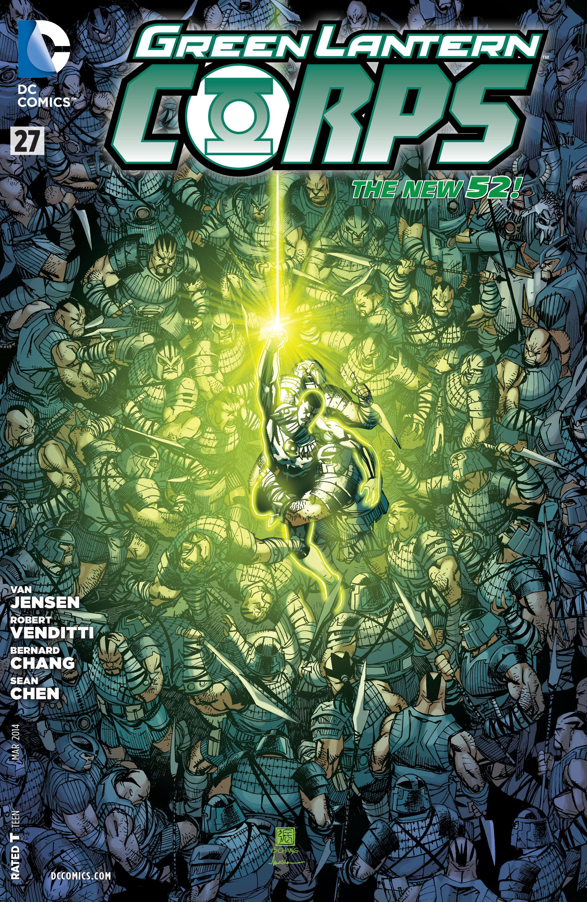 Green Lantern Corps Vol 3 27