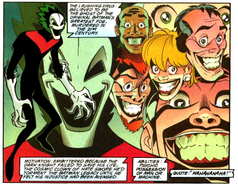 Laughing Virus (DC One Million)