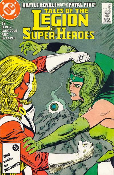 Legion of Super-Heroes Vol 2 351
