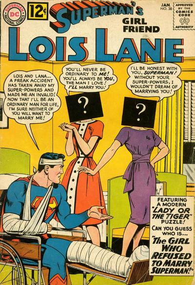 Superman's Girl Friend, Lois Lane Vol 1 38