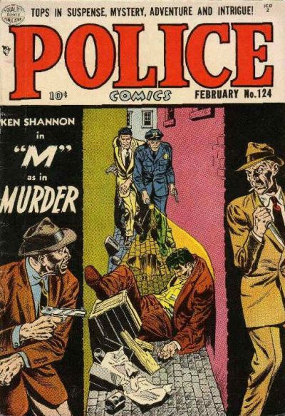 Police Comics Vol 1 124