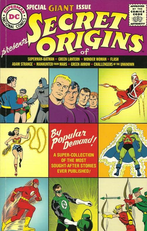 Secret Origins Replica Edition Vol 1 1