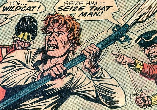 Wildcat of Tomahawk's Rangers (New Earth)