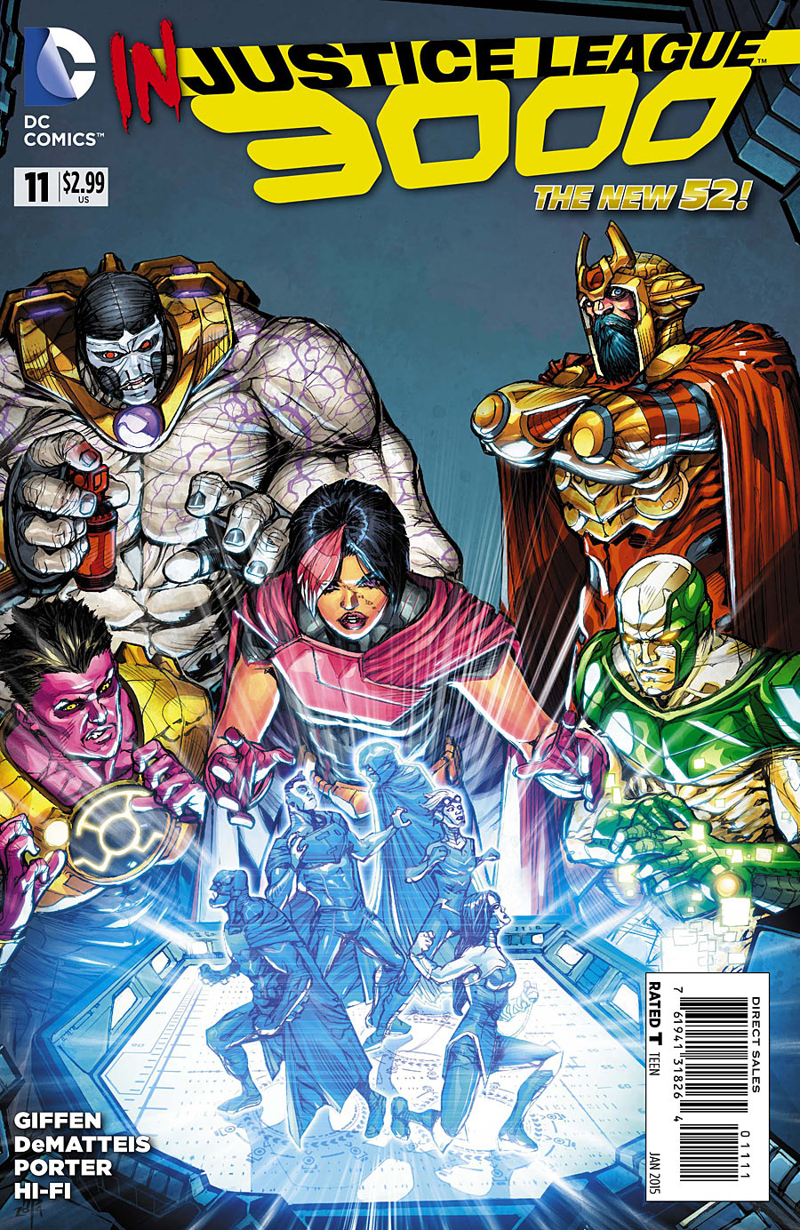 Justice League 3000 Vol 1 11