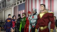 Justice League War 001