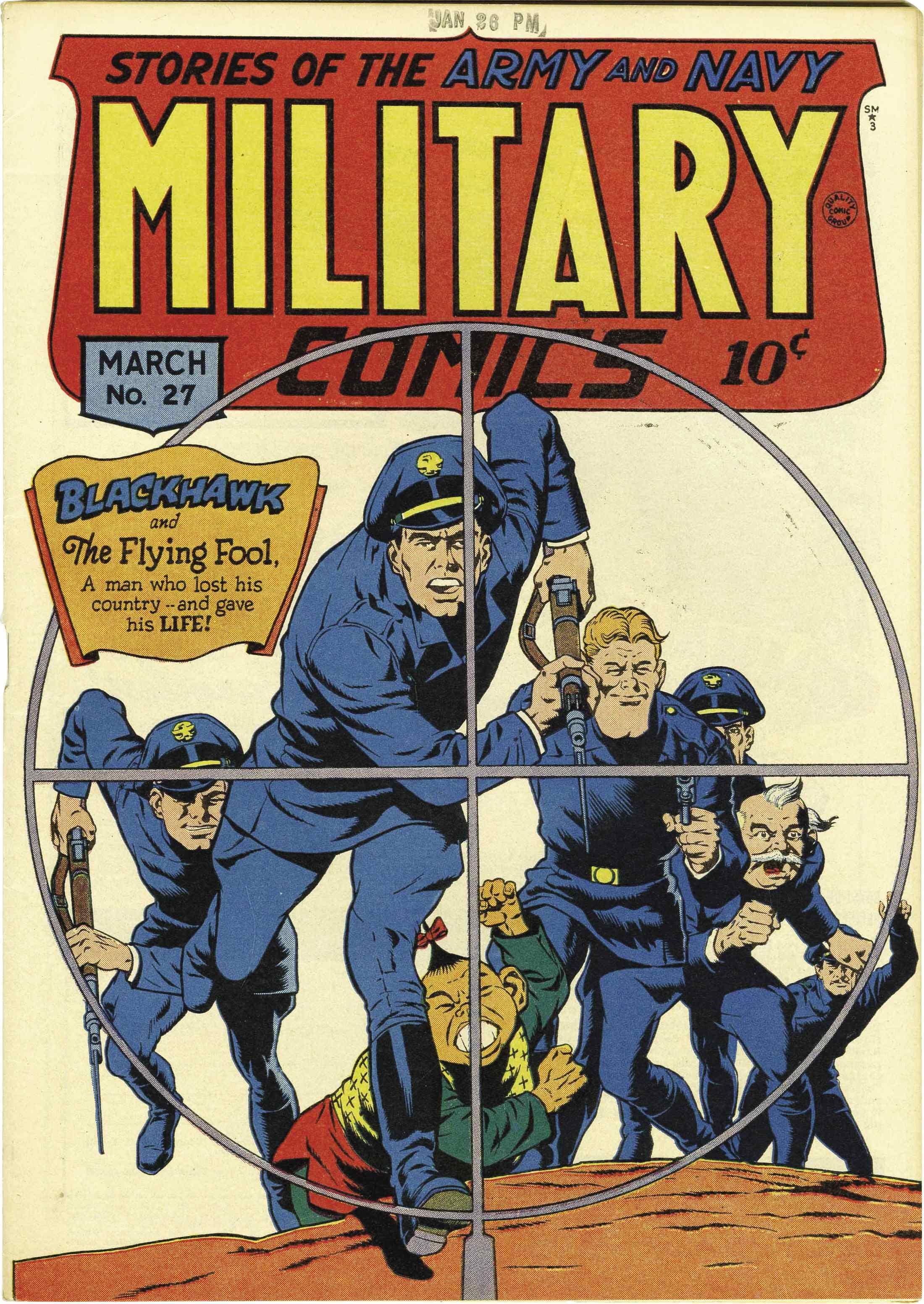 Military Comics Vol 1 27