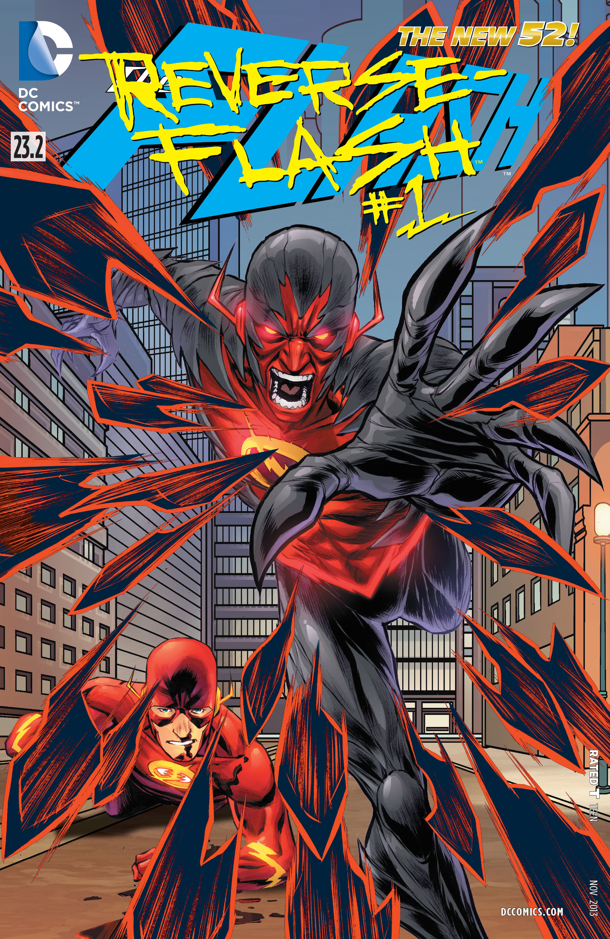 The Flash Vol 4 23.2: Reverse-Flash