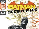 Batman Secret Files Vol 1 1