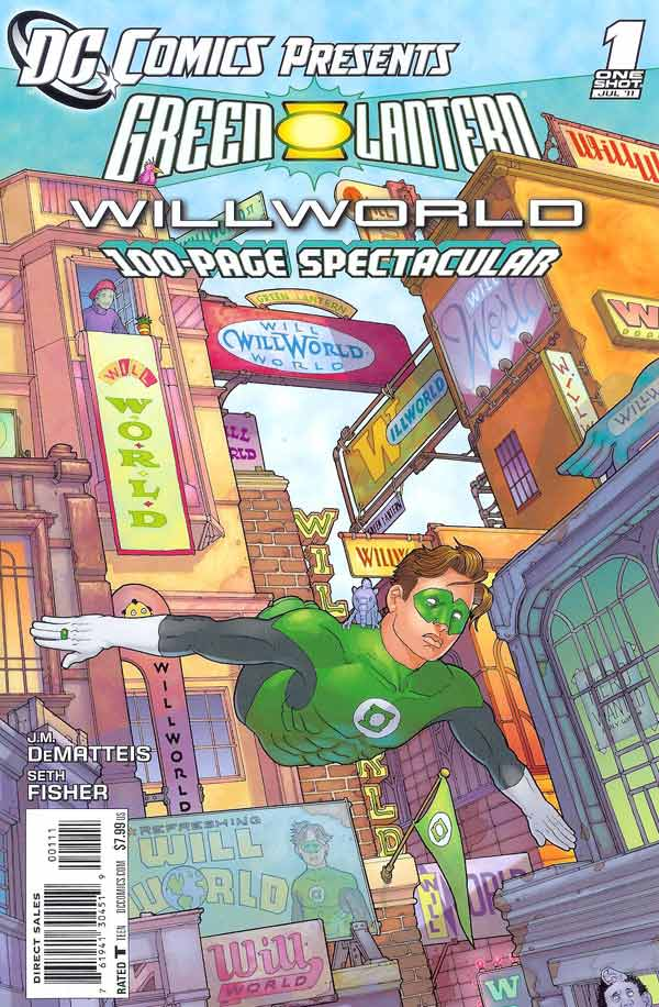DC Comics Presents: Green Lantern Willworld Vol 1 1