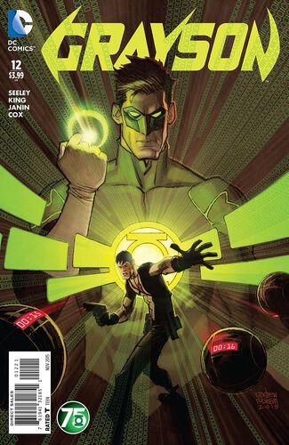 Green Lantern 75th Anniversary Variant