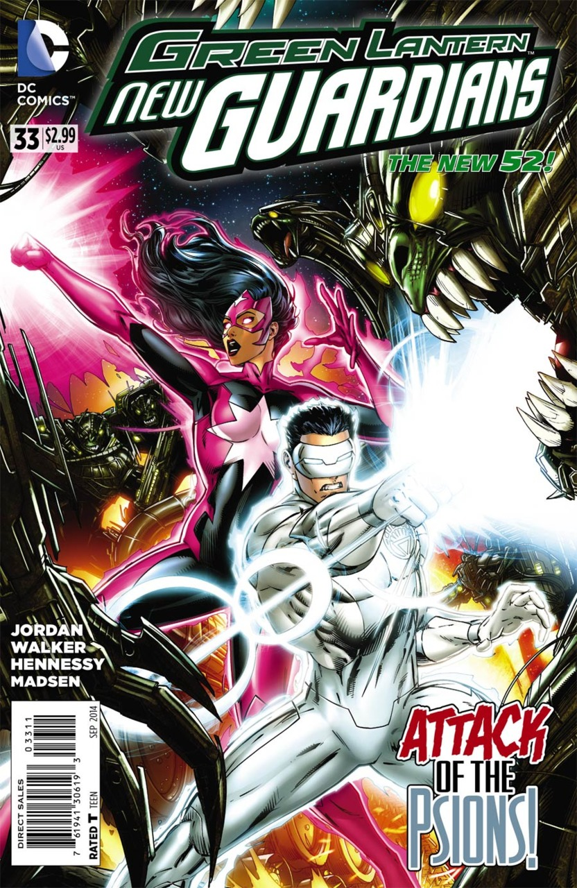 Green Lantern: New Guardians Vol 1 33